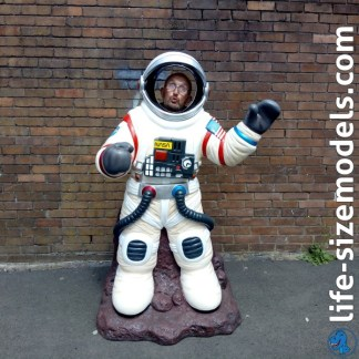 Astronaut Photo Pod 3D Realistic Lifesize Model