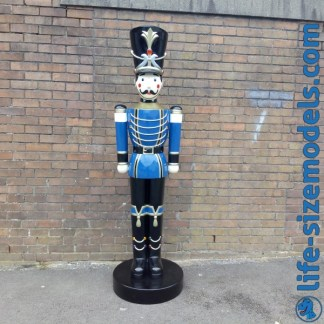 Toy Soldier 6.5ft Figure-Blue 3D Lifesize Model