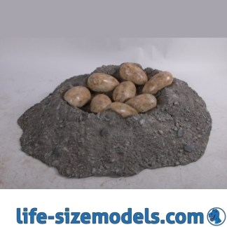 Dinosaur Egg Nest Model
