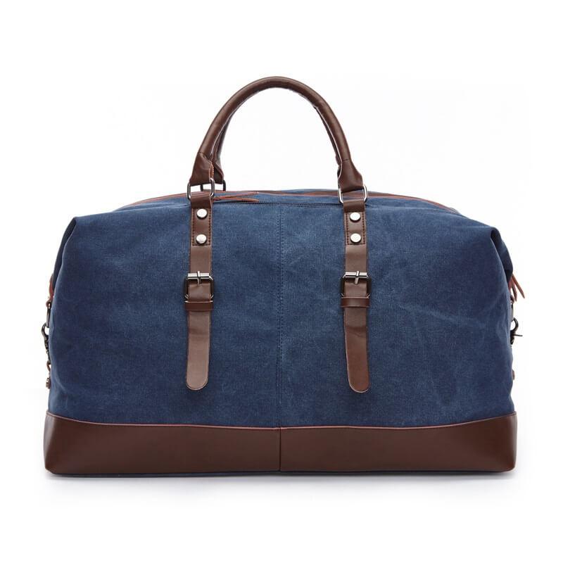 Large Capacity Men Washed Canvas Weekender Bag Duffle Bag Canvas ... 934a099d72dcc