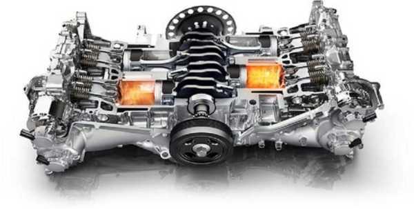 Что такое оппозитный двигатель? (много фото и видео)