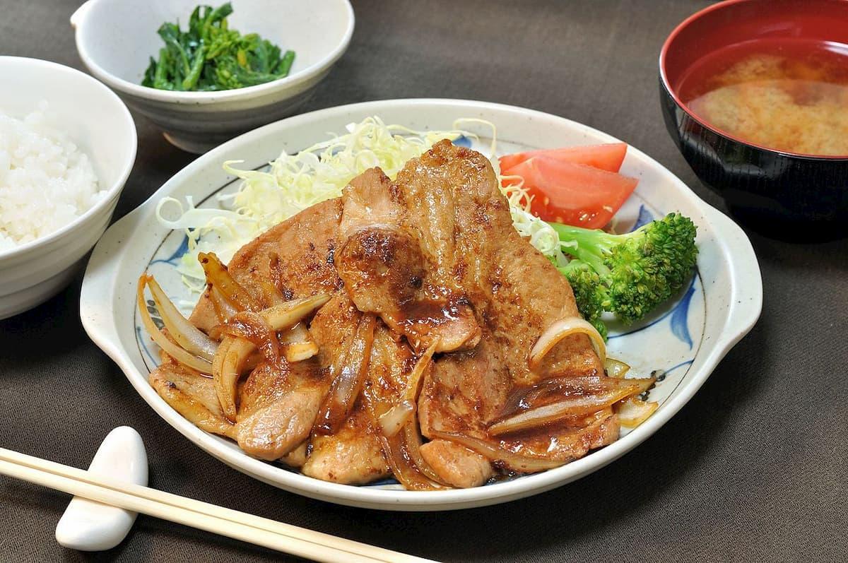 薑汁燒肉-豬肉料理-薑