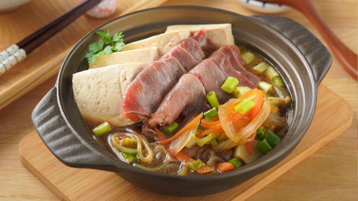 牛肉壽喜燒-蔬菜