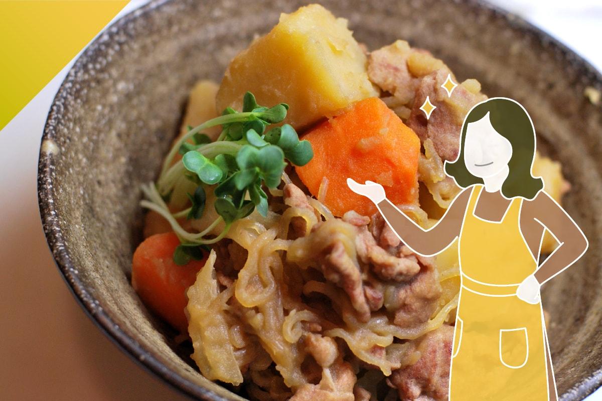 馬鈴薯燉肉_維生素B1