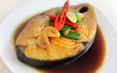 紅燒土魠魚 吃100公克幾乎滿足 DHA 一日需求