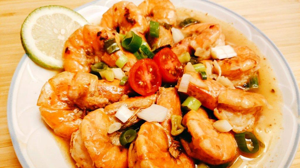 鮮蝦料理-泰式檸檬蝦