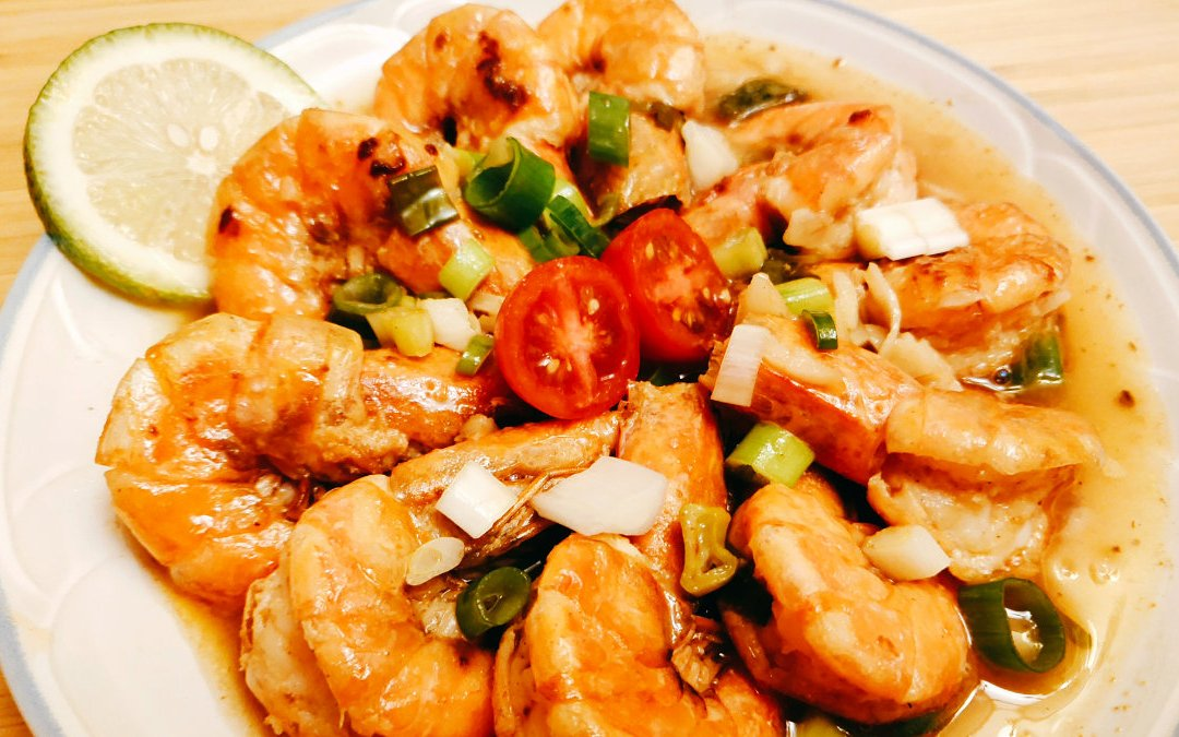 鮮蝦料理 泰式檸檬蝦