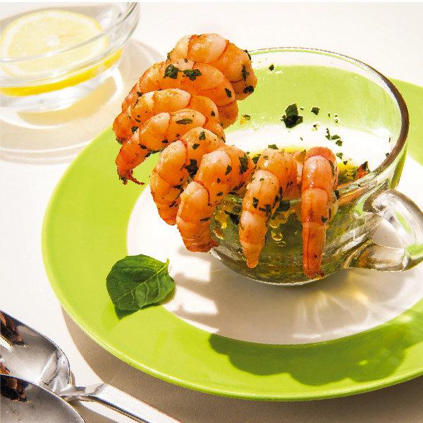 地中海料理-西班牙蘿勒蒜味蝦