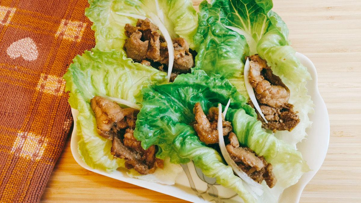 快速料理-豬肉料理-照燒豬肉蔬菜捲