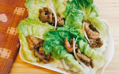 快速料理 照燒豬肉蔬菜捲/月見薑汁豬肉丼