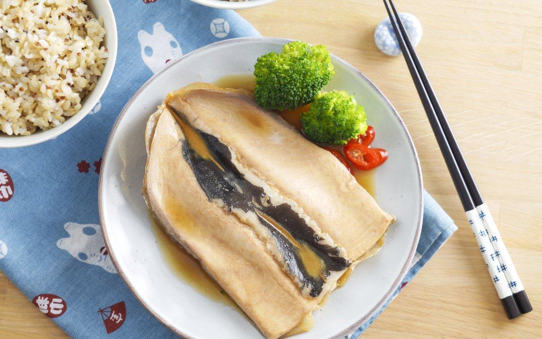 快速料理 香滷虱目魚肚穀飯