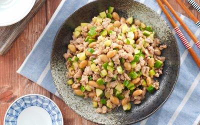 納豆料理 充滿發酵力的納豆味增炒肉末