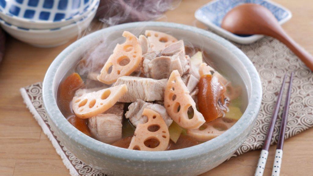 即時調理包-藥膳-藕片杮餅排骨湯