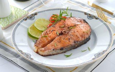 香煎鮭魚排 一週兩次補足你的 Omega-3 需求