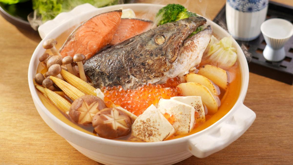 日式味噌鍋-鮭魚