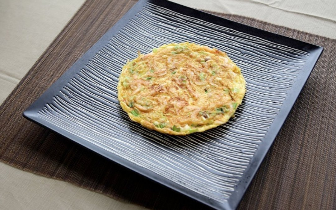 櫻花蝦料理 櫻花蝦煎蛋