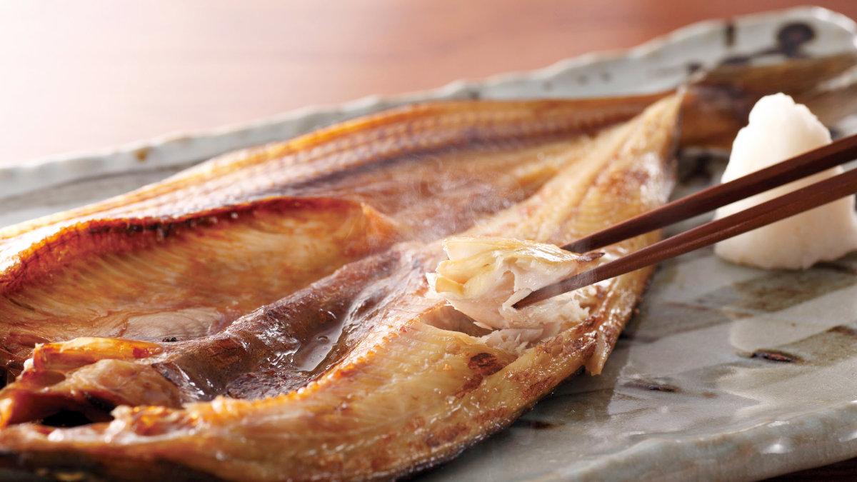 香烤一夜干-北海道花魚