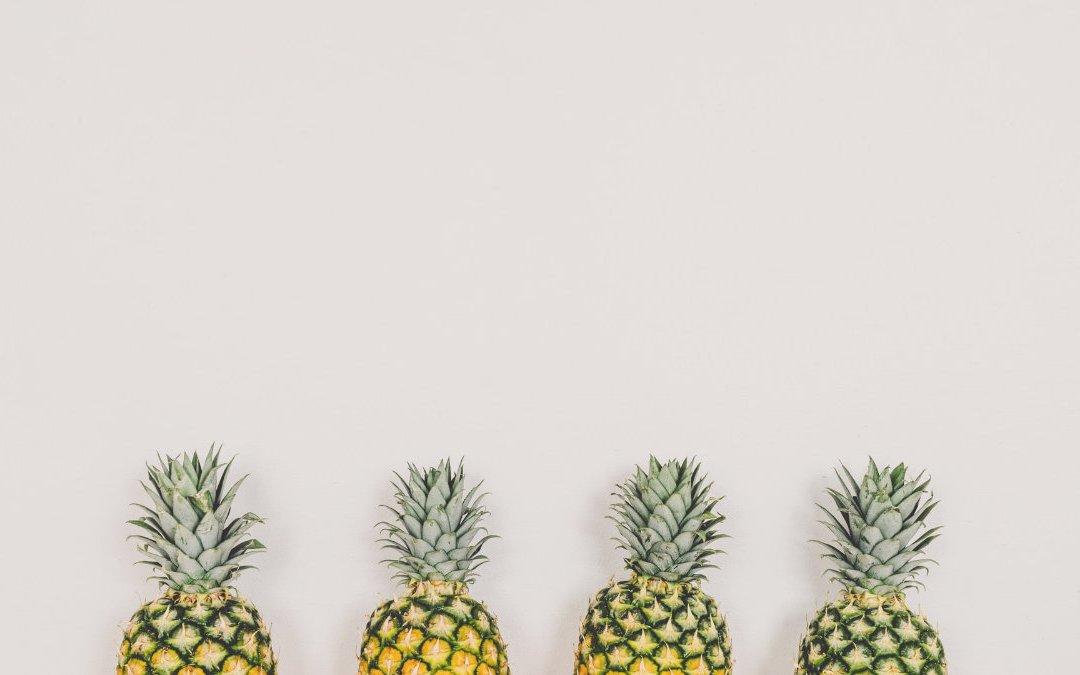 金鑽鳳梨與牛奶鳳梨吃起來甜度不一樣 那營養素有差嗎?