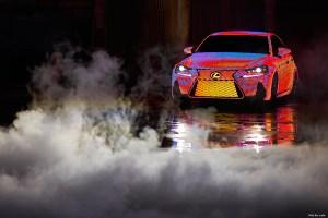 Üleni LED tuledega kaetud uus Lexus LIT IS