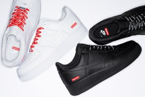 Kas Supreme Nike Air Force 1 on laisk disain või geniaalsus?