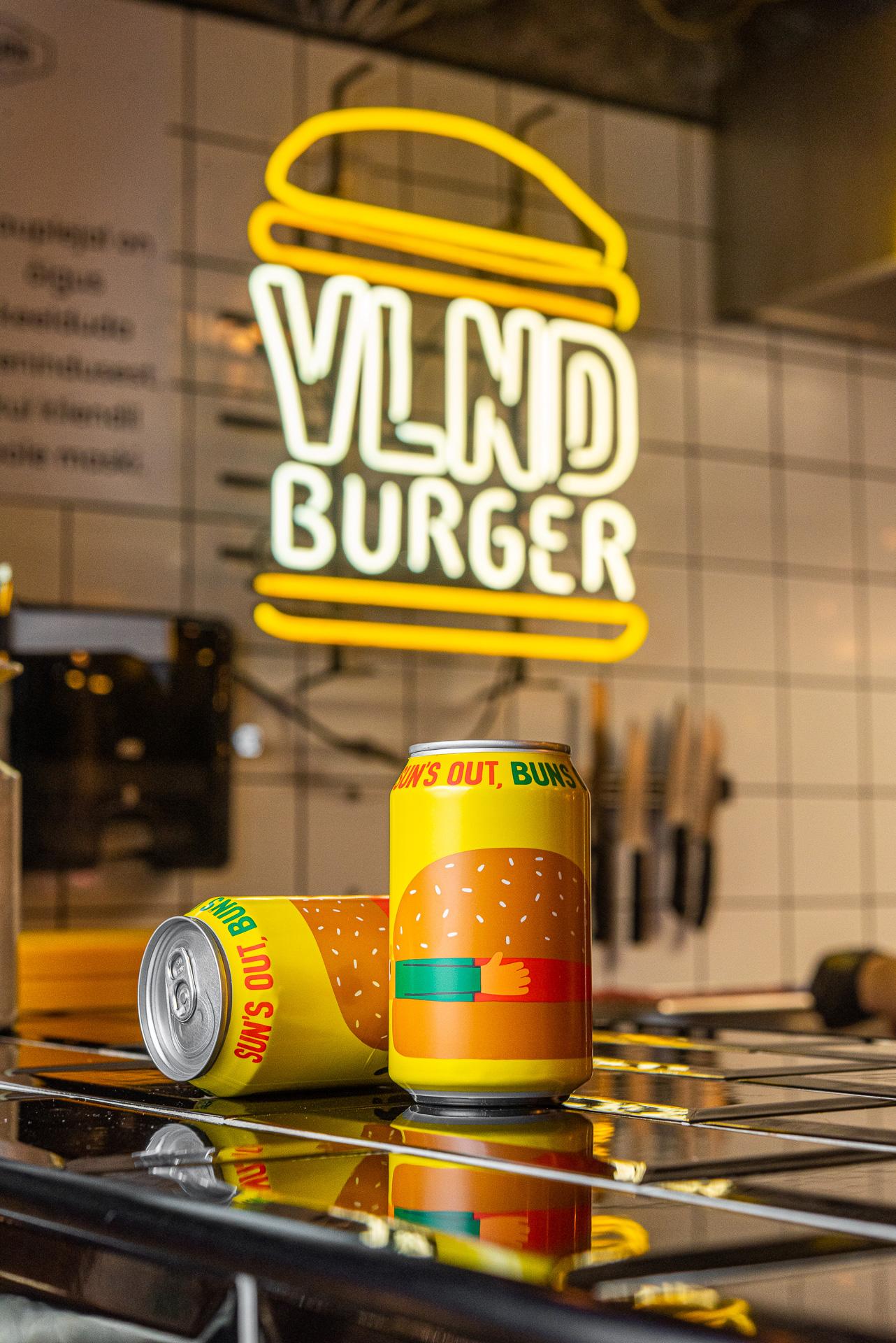 VLND burger Mikkeller käsitööõlu Uulits Tänavagurmee