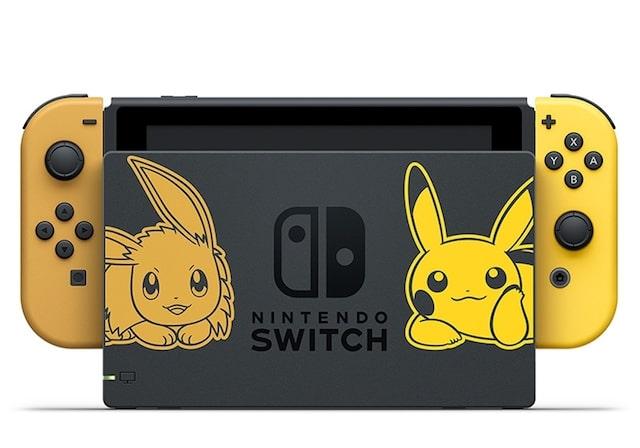 nintendo switch ピカチュウ