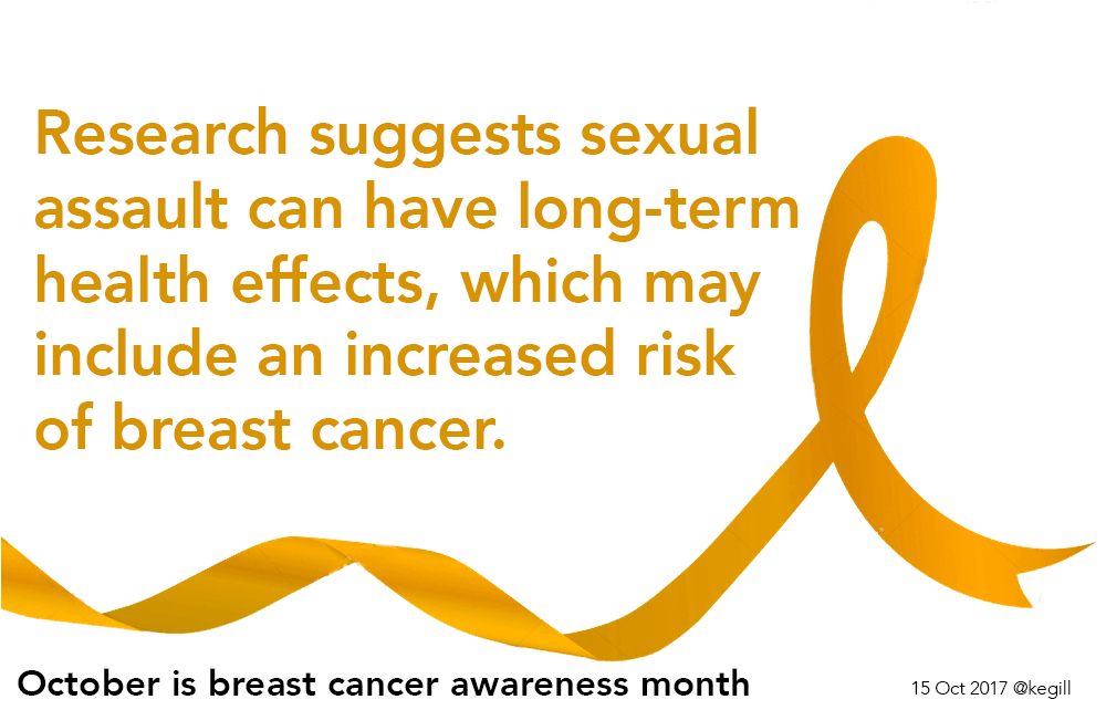 sexual assault and breast cancer