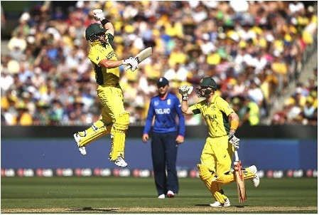 13th Feb, 2015, CWC |Aus Vs Eng |  Image Source : cricketsupport.com