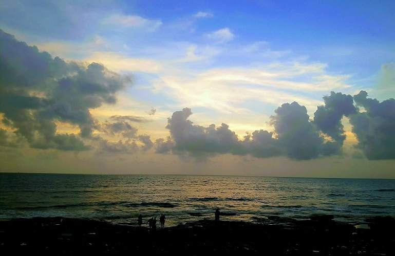 A Quote by Tagore – Clouds come floating into my life