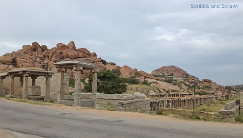Rocks and Boulders, Hampi