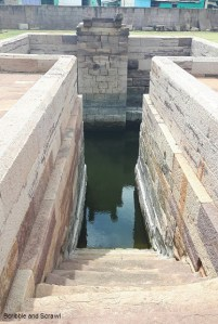 Stepped well