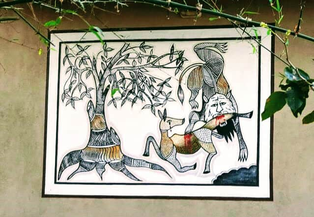 Traditional Gond Art Painting