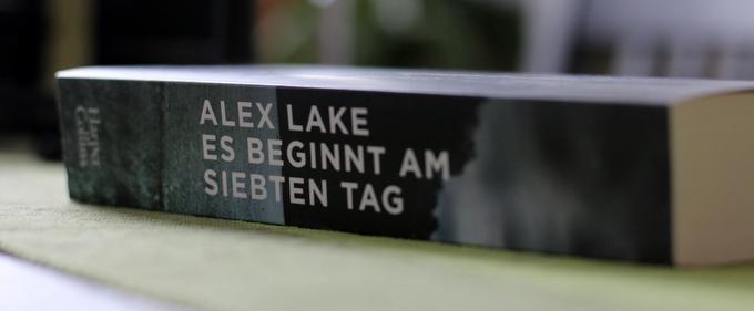 es beginnt am siebten tag, alex lake, crime, buchkritik, cover