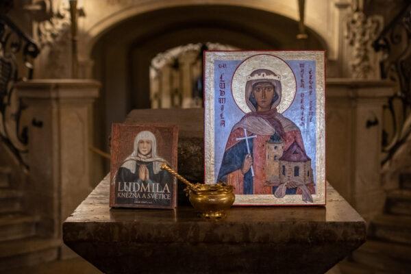 Mse se slavnostnim uvedenim monografie Ludmila – Knezna a svetice 3 e1614958417269