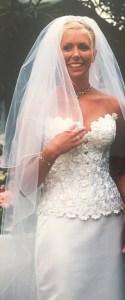 samantha walsh in wedding dress
