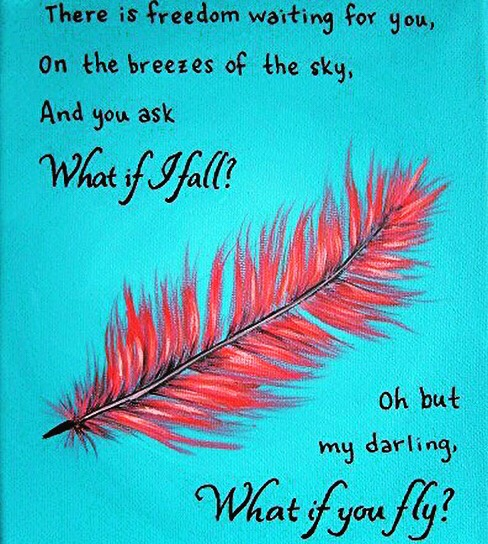 Erin Hanson poem What If I Fall?