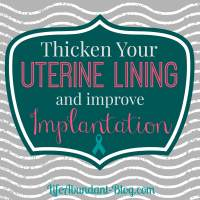 Possible Ways to Thicken Your Uterine Lining and Improve Implantation