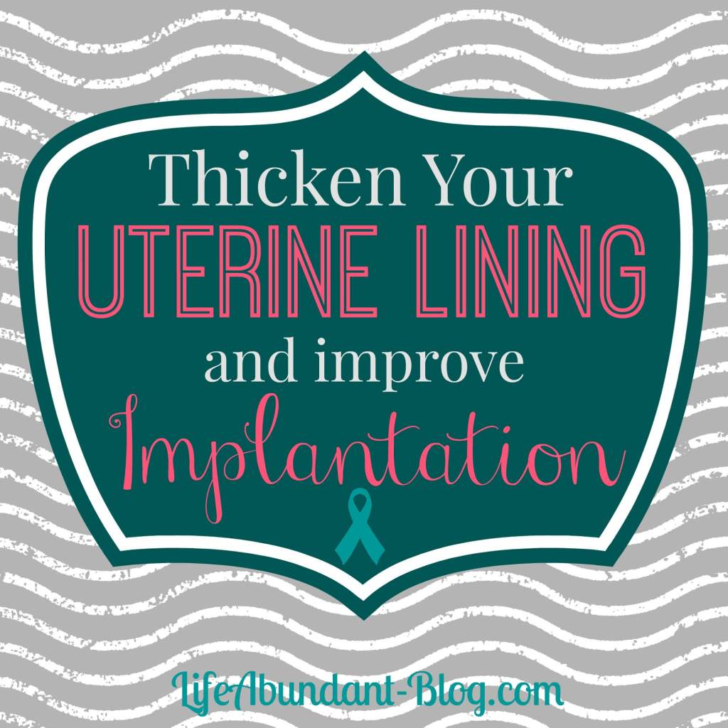 Thicken Uterine Lining
