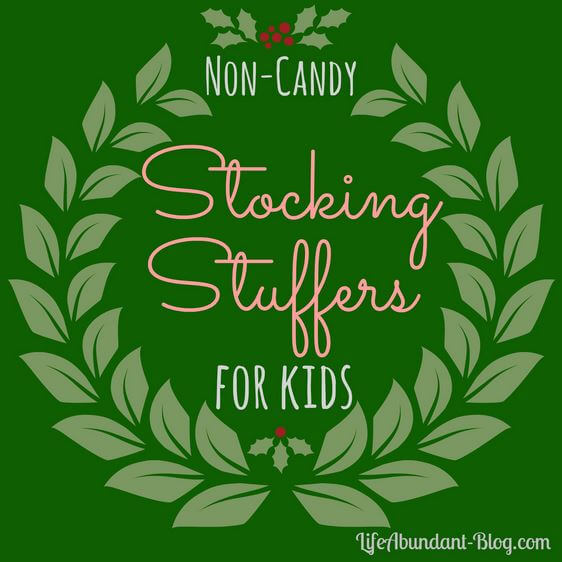 Non-Candy Stocking Stuffers for Kids