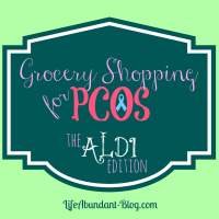 Grocery Shopping for PCOS: How to Shop at Aldi