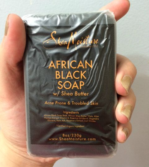 African Black Soap - front label