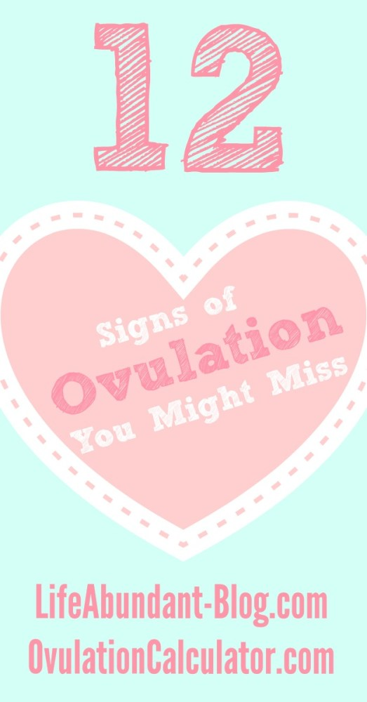 12 Signs of Ovulation You Might Miss 2