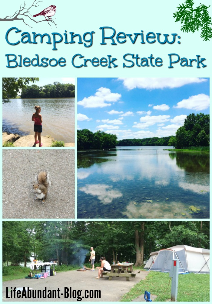 Bledsoe Creek Camping collage 4
