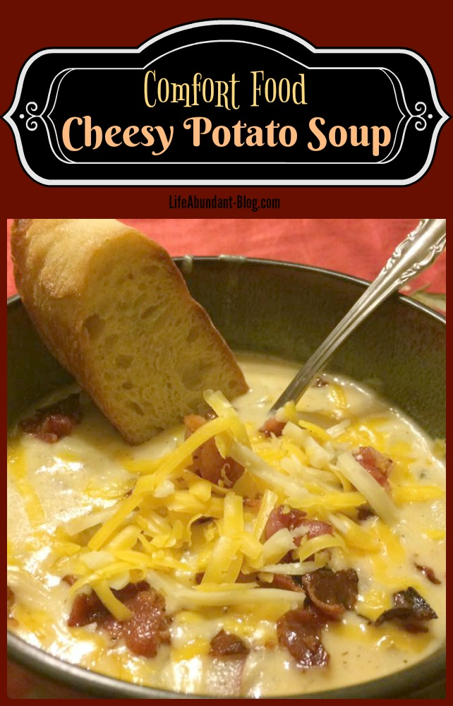 Cheesy Potato Soup Recipe
