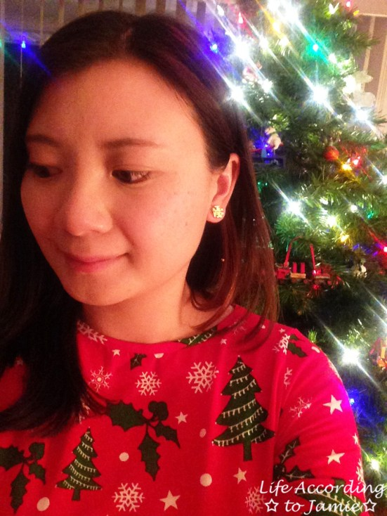 Christmas Swing Dress 1
