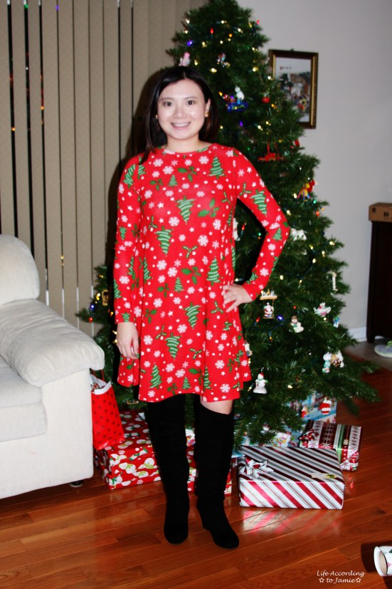 Christmas Swing Dress 2
