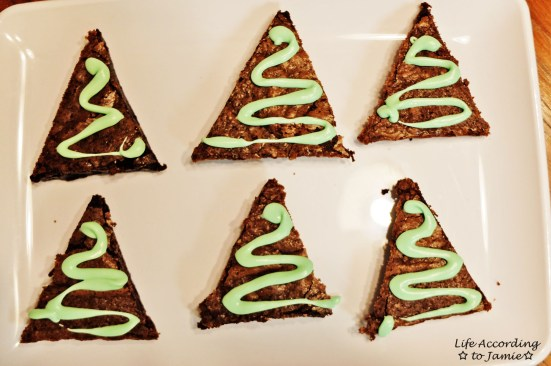 Christmas Tree Brownies 3