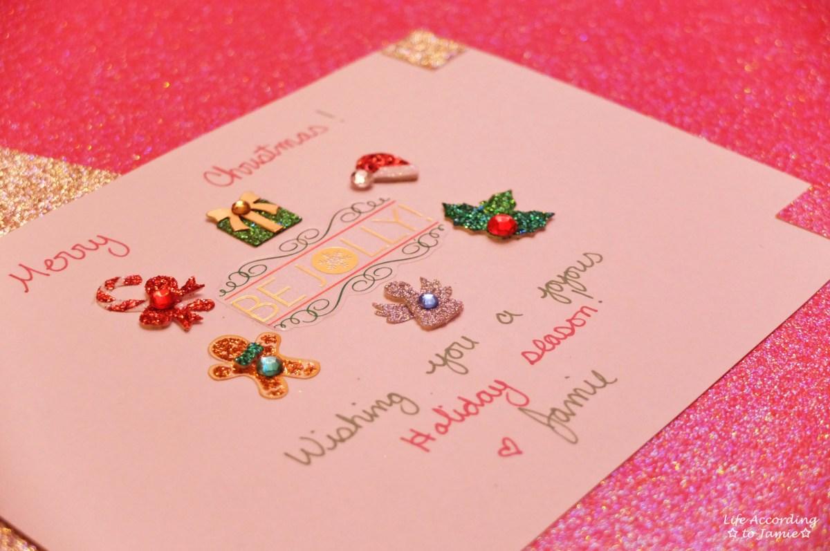 Diy Christmas Cards Life According To Jamie