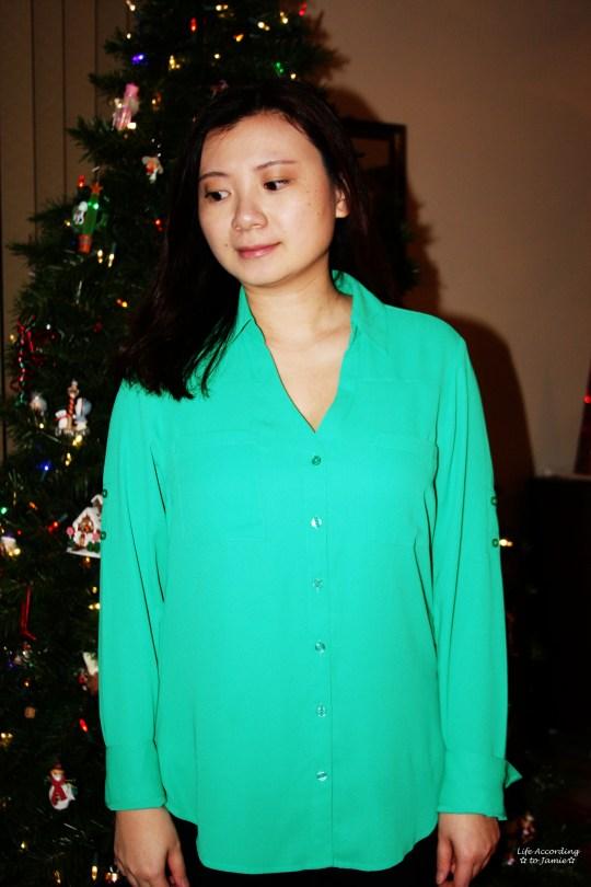 Holiday Green - Portofino Shirt 1