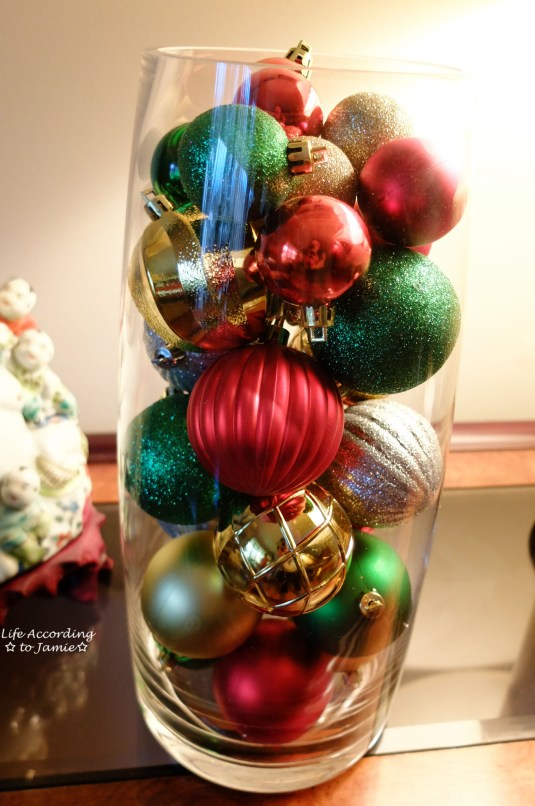 Decorating With Ornaments Life According To Jamie